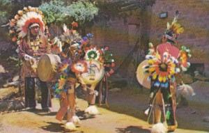 Indian Drummer and Dancers