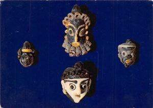 Tunisia Musee National du Bardo Masques puniques en pate de Verre (Carthage)