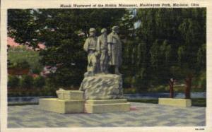 March Westward Nation Monument Marietta OH Unused