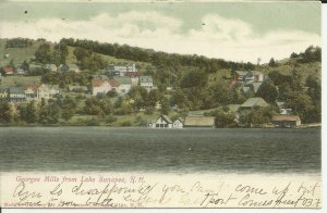 Georges Mills From Lake Sunapee, New Hampshire