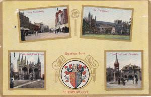 PETERBOROUGH , England, United Kingdom, 00-10s ; Greetings, Crest and 4-views