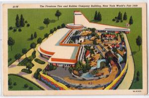 1939 NY Worlds Fair, Firestone Tire & Rubber Co