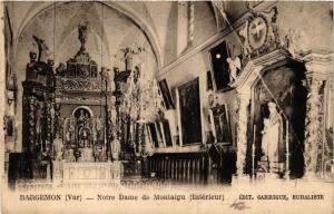 CPA  Bargemon - Notre Dame de Montaigu - Interieur  (635388)