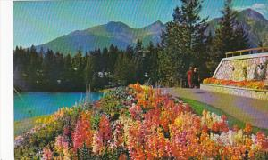 Canada Alberta Jasper Park Lodge The Gardens