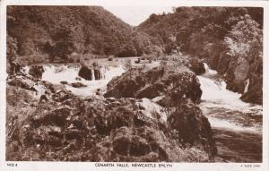 RP; TUCK; WALES, United Kingdom; Cenarth Falls, Newcastle Emlyn, PU-1952
