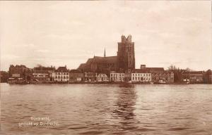 Netherlands Dordrecht gezicht op Dordrecht Lake Church Kirche