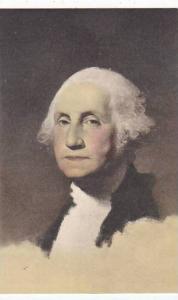 George Washington Portrait By Gilbert Stuart Albertype