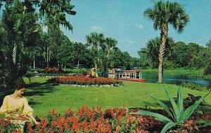 Florida Silver Springs A Beautifully Landscoped Park Borders The Silver River...