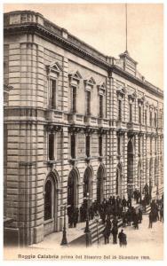 Italy  Reggio Calabria  Palazzo Municinale