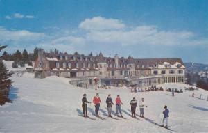 Ski School at the Chantecier, Famous year-round resort, Ste. Adele, Province ...