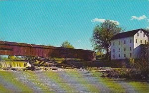 Indiana Parke County Bridgeton Covered Bridge