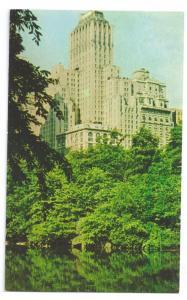 Barbizon Plaza Hotel New York NY Postcard