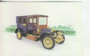 Postal 000010: Coche Limousine Fiat Mod. 24/32 CV - 1904