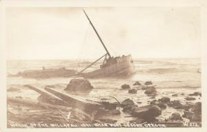 RP: PORT ORFORD , Oregon , 1941 ; Shipwreck of WILLAPAU