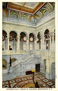 DC - Washington. Library of Congress Entrance Hall