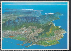 South Africa Postcard - Aerial View of The Cape Peninsula   DC1748