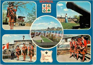 Modern Postcard Montreal Quebec Army Folklore