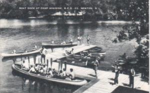 Canoes At The Boat Dock At Camp Minisink Newton New Jersey Artvue