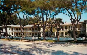 Pass A Grille Beach Florida~Cameo Apartments~1950s Postcard