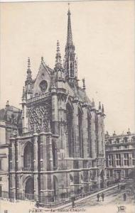 France Paris La Sainte-Chapelle