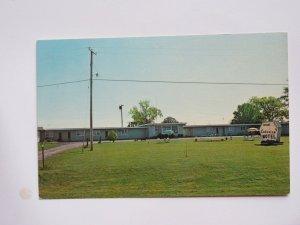 Bouchards Lake View Motel in Massena New YorkVintage Chrome Postcard