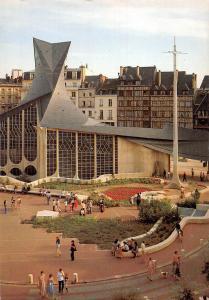 France Rouen Place du Vieux Marche et la Chapelle Sainte Jeanne d'Arc