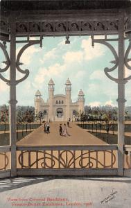 View from Colonial Bandstand Franco British Exhibition London