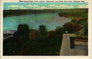 EAGLE POINT PARK THREE STATES VIEW DUBUQUE IOWA