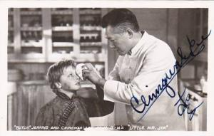 Butch Jenkins & Chingwah Lee in Little Mr Jim Signed Real Photo