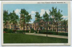 Talon Fastener Company Factory Meadville Pennsylvania postcard
