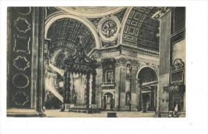 Citta del Vaticano, 00-10s   Interno San Pietro, Altare della Confessione