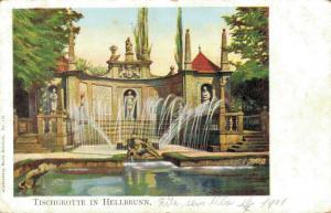 Czech Republic - Tischgrotte in Hellbrunn 02.31