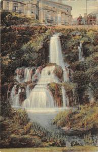 Ventor Isle Of Wight England c1910 Postcard The Cascade