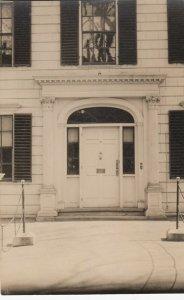 RP: NEWBURYPOINT , Massachusetts , 1900-10s ; Colonial Doorway