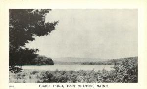 East Wilton, Maine, ME, Pease Pond, Unused Vintage Postcard d7732