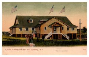 Rhode Island Westerly , Casino at Wequetequock