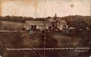 The Charing Cross Home The Chart Limpsfield Tower of the Caxton Home Postcard