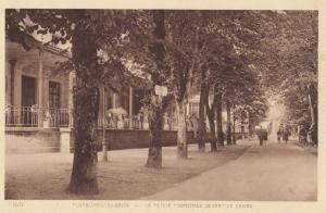 Plombieres Les Bains Promenade by Casino France Old Postcard