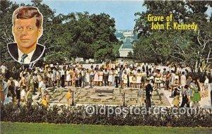 Grave of John F Kennedy Arlington, VA, USA Unused