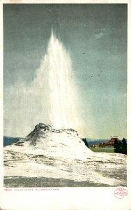 Yellowstone National Park Castle Geyser 1908 Detroit Publishing