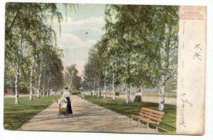 Scene On Drexel Boulevard, Chicago, Illinois, PU-1907