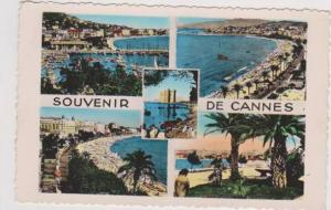 Hand Tinted RP: 4 Views from Cote d'Azur, Cannes, Alpes Maritimes France