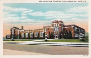 Arkansas Fort Smith New Senior High School and Junior College Curteich