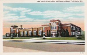 Arkansas Fort Smith New Senior High School and Junior College Curteich