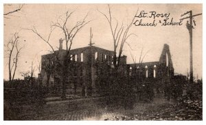 Fire Disasters ST. Rose Church and School