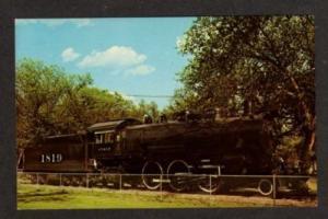 CO Atchison Topeka & Santa Fe RR Train LAMAR COLORADO
