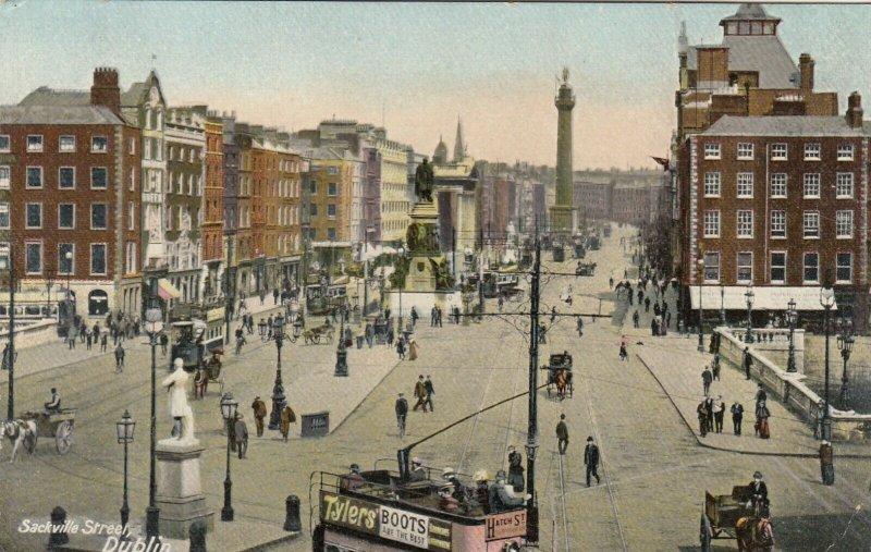 DUBLIN, Ireland , 1900-10s ; Sackville Street #2