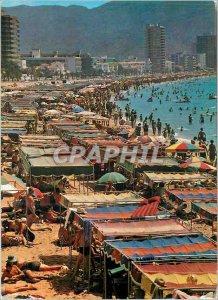 Modern Postcard Benidorm Beach