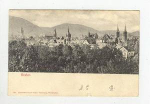 Showing Partial View Of Goslar (Lower Saxony), Germany, 1900-10s