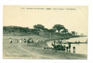 Sur le Niger - NYAMINA , Mali, 00-10s